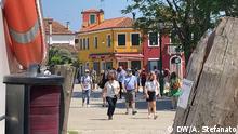 Italien Burano, Insel in der Lagune von Venedig