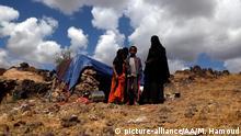 Jemen Flüchtlinge im Al-Raqah Flüchtlingslager