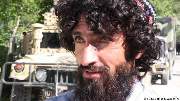 An Afghan Taliban member after being released from custody in May 2020