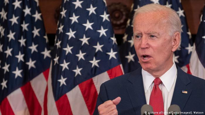 USA Präsidentschaftskandidat Joe Biden