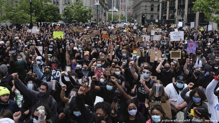USA New York Proteste nach Mord an George Floyd