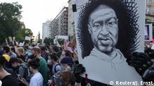 USA | Washington DC | Proteste gegen Polizeigewalt vor dem weißen Haus