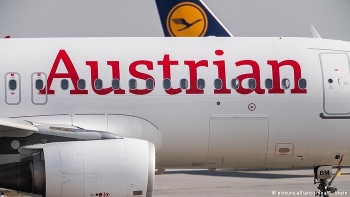 Avión de Austrian Airlines.