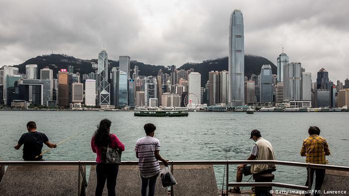 Hongkong Victoria Harbour | Aussichtsplattform
