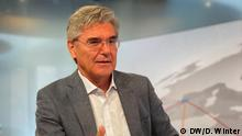 Siemens-Chef Joe Kaeser zu Gast bei DW TV