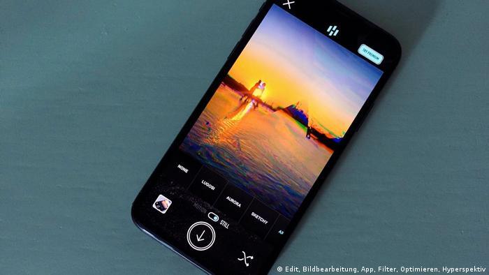 DW Shift: Fotobearbeitungs-Apps im Test, Hyperspektiv