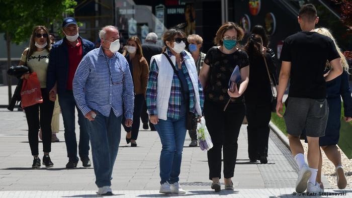 Nordmazedonien   Coronavirus   Pandemie