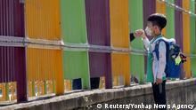 Südkorea Gwangju   Coronavirus   Schulöffnungen