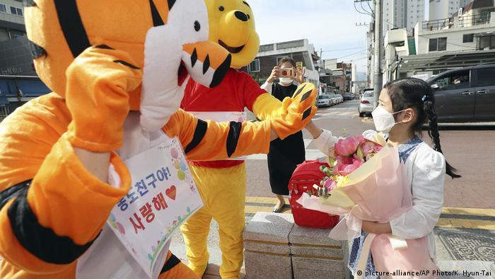 Südkorea Daegu | Coronavirus | Schulöffnungen