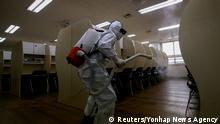 Südkorea Seoul   Coronavirus   Schulöffnungen