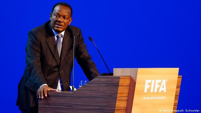 Yves Jean-Bart, Haiti's FA President (Getty Images/A. Schneider)