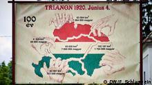 Ungarn Plakat zum Thema Trianon-Vertrag