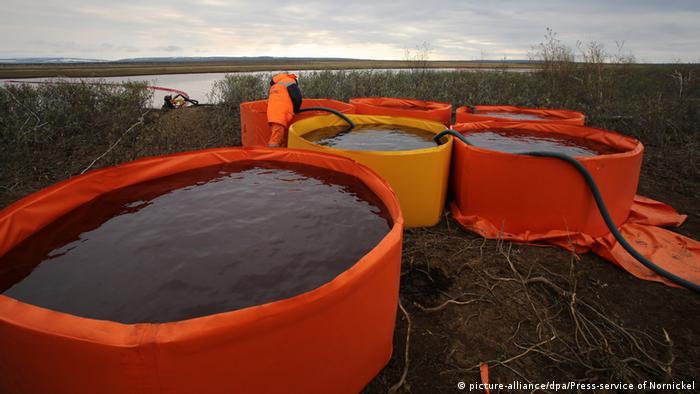 Russland Norilsk Ölkatastrophe