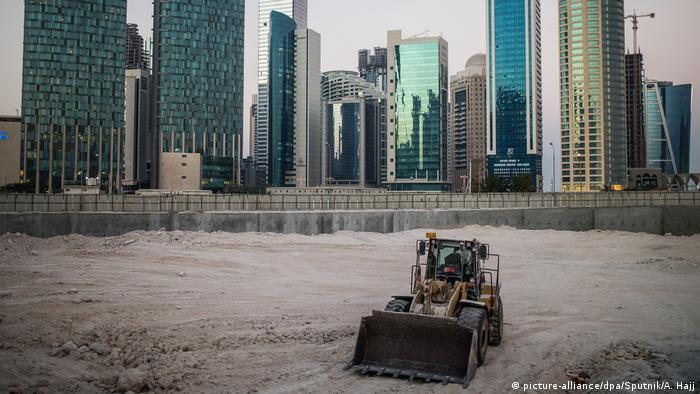 Katar Doha West Bay (picture-alliance/dpa/Sputnik/A. Hajj)