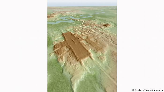 Mexiko Maya-Ausgrabungsstätte Aguada Fenix (Reuters/Takeshi Inomata)