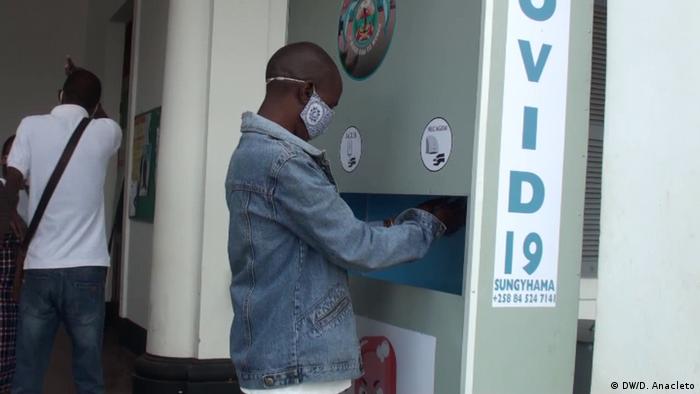 Mosambik Pemba | Coronavirus | Kampf gegen Covid-19