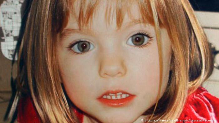 Madeleine McCann, pictured in 2007. (picture-alliance/dpa/Brainpix/Itspress/Pacoeden)