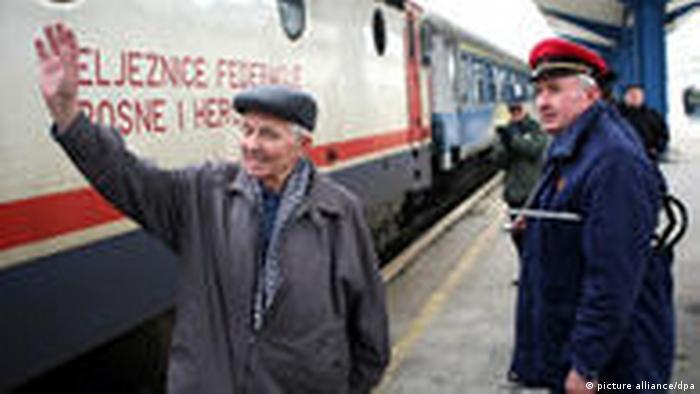 Zug Bosnien Serbien