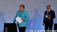 Deutschland Berlin Pressekonferenz zum Konjunkturpaket | Angela Merkel und Olaf Scholz