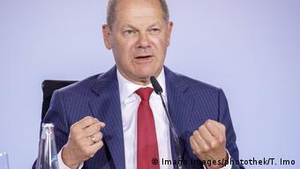 Maliye Bakanı Olaf Scholz