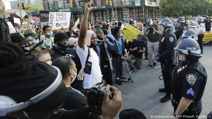 USA New York Proteste nach dem Tod von George Floyd