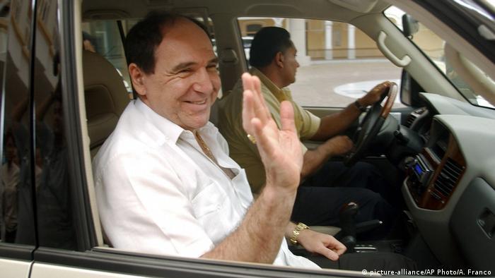 Panama Ecuadorianischer Ex-Präsident Abdala Bucaram (picture-alliance/AP Photo/A. Franco)