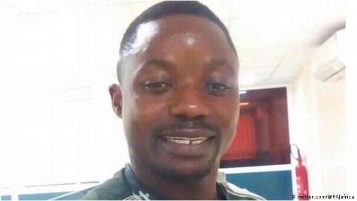 Cameroon journalist Samuel Ajiekah Abuwe alias 'Wazizi'