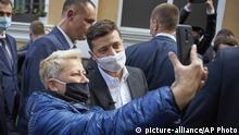 Ukraine Präsident Volodymyr Zelenskiy