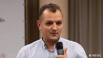 Лікар-епідеміолог, к.мед.н. Андрій Александрін
