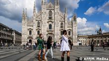 Coronavirus | Italien Mailand öffnet sich für Touristen