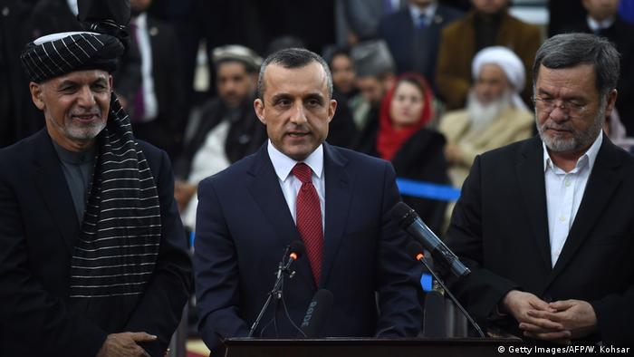 Afghanistan Kabul | Ashraf Ghani, Sarwar Danish und Amrullah Saleh