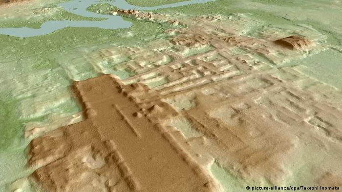 México: escaneo láser del complejo maya más grande y antiguo conocido (picture-alliance / dpa / Takeshi Inomata)