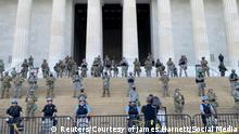 USA   Protest gegen den Tod von George Floyd in Washington