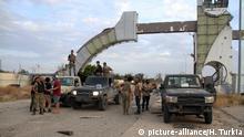 Libyen, Tripoli: Übernahme des Flughafens