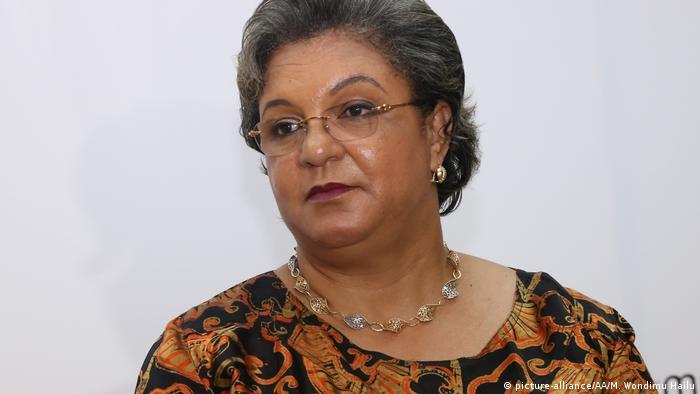 Ghanas Außenministerin Hanna Serwaa Tetteh (picture-alliance/AA/M. Wondimu Hailu)