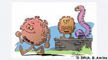 Karikatur: Nigeria Covid-19, Lassa, Ebola