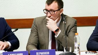 Депутат Псковской городской думы и член партии Яблоко Дмитрий Пермяков