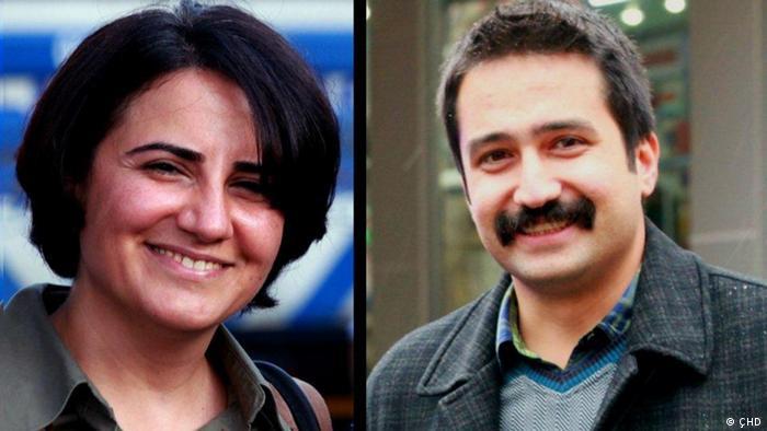 Fotomontage: Rechtsanwälte Ebru Timtik und Aytaç Ünsal (ÇHD)