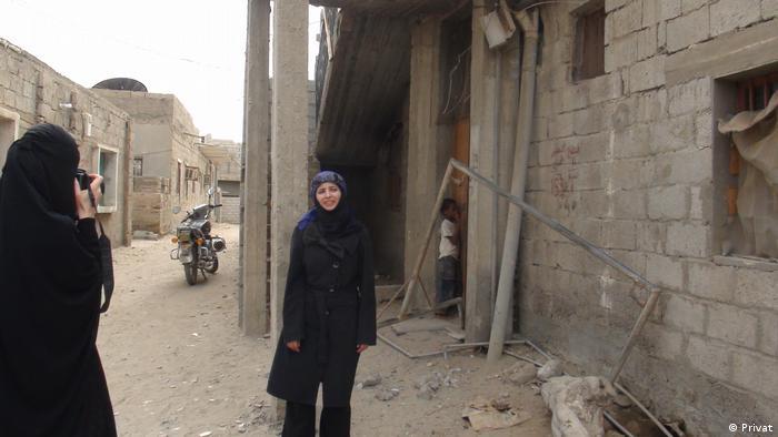 Bushra al-Maqtari in Abyan, Yemen in 2013