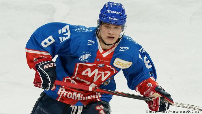 Tim Stützle Eishockeyspieler Adler Mannheim