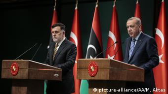 Συμφωνία της Άγκυρας για τη μόνιμη εγκατάσταση στρατευμάτων στη Λιβύη;