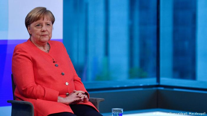 Chanceler federal da Alemanha, Angela Merkel
