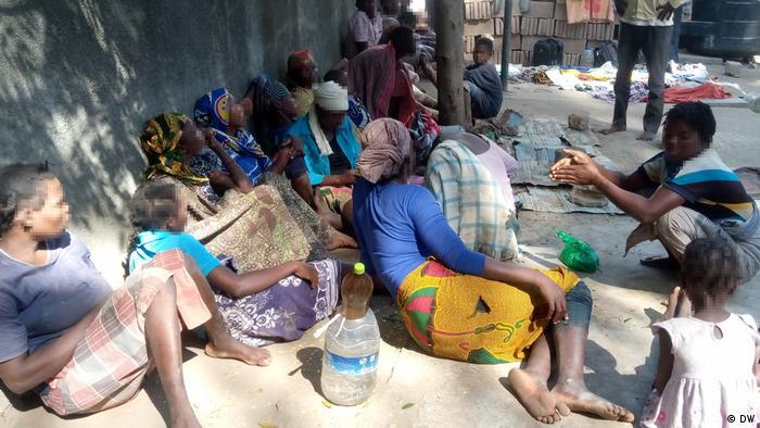Mosambik Cabo Delgado Schiffbrüchige