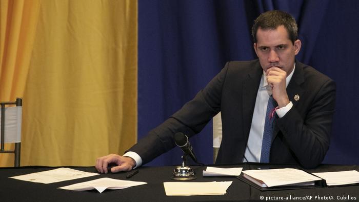 Визнаний ЄС спікер Національних зборів Венесуели Хуан Гуайдо
