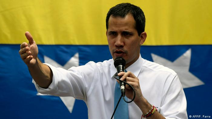 Opposition leader Juan Guaido is recognized by nearly 60 nations as Venezuela's interim president