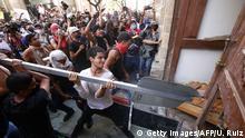 Mexiko Protest nach dem Tod eines jungen Mannes in Polizeigewahrsam