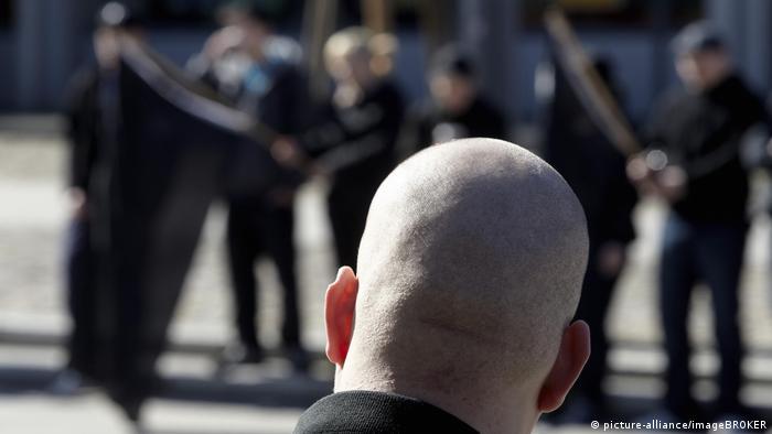 Демонстрация неонацистов в Кобленце (фото из архива)