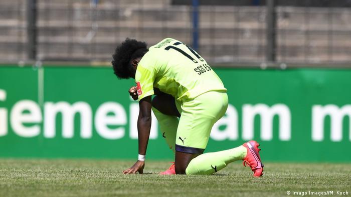 Frauenfußball SGS Essen Nicole Anyomi (Imago Images//M. Koch)