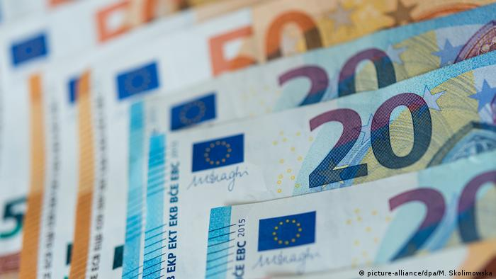 €20 and €50 notes