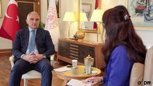 Türkei Der türkische Kultur- und Tourismusminister Mehmet Nuri Ersoy